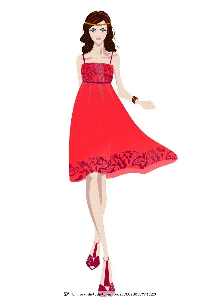 服装效果图 红色 民族风 完结0篇 服装设计        丝绸 礼服 动漫