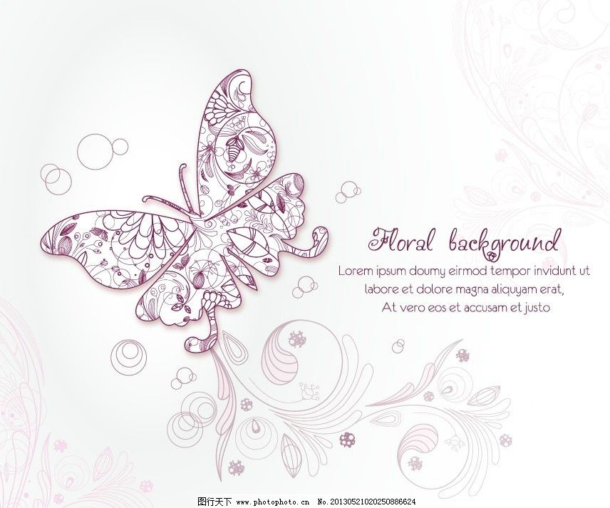 线条 鲜花 花纹 布纹 欧式花纹 时尚底纹 色彩 鲜艳 花纹背景 树叶