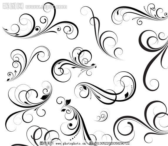欧式 古典 花纹 花边 边框