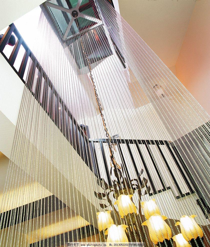 楼梯 吊灯 装饰 装潢 室内 室内设计 扶手 户型 装修 线性装饰 天花板