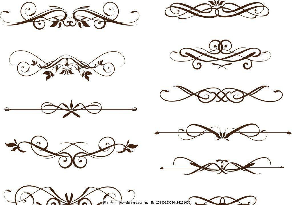 欧式花纹 欧式古典花纹 简约 欧式花纹标签 欧式 花卉 贵族 皇室 植物