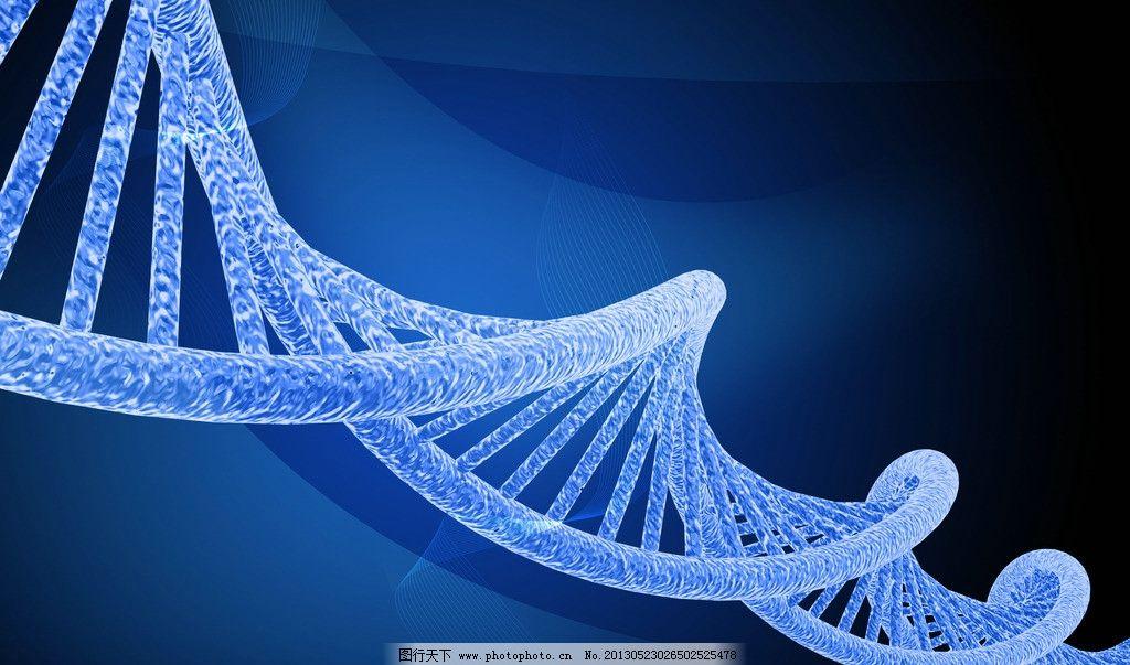 遗传基因图片