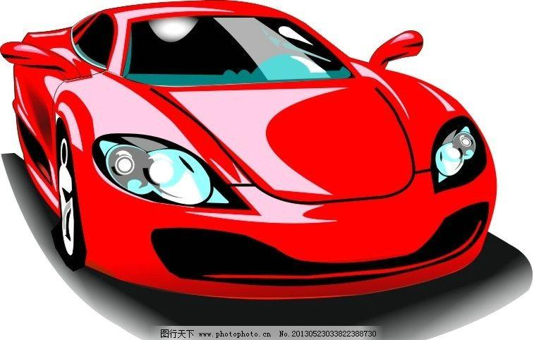 汽车矢量图 汽车 矢量 红色 车 黑色 汽车矢量 矢量素材 其他矢量 cdr
