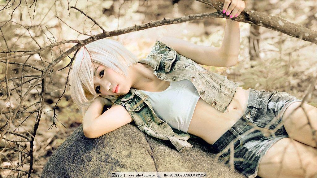 cosplay美女 气质美女 清纯美女 可爱美女 动漫美女 白发美女 高清
