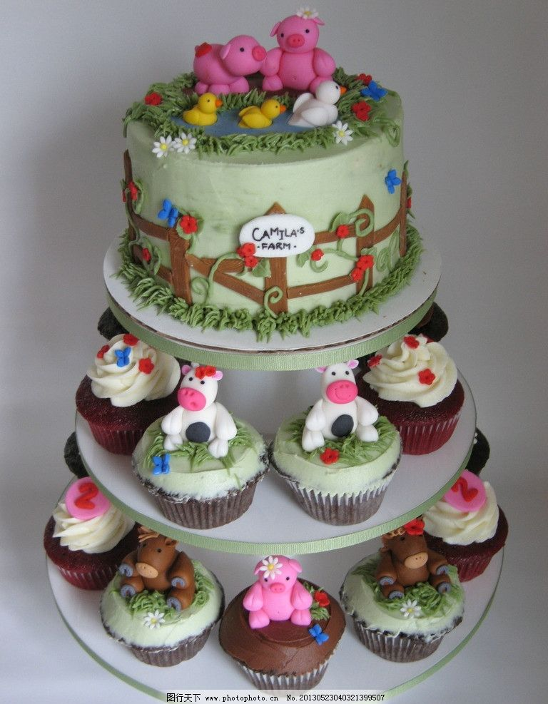婚礼蛋糕 生日蛋糕 场景蛋糕 三层蛋糕 礼品蛋糕 鞋子蛋糕 点心