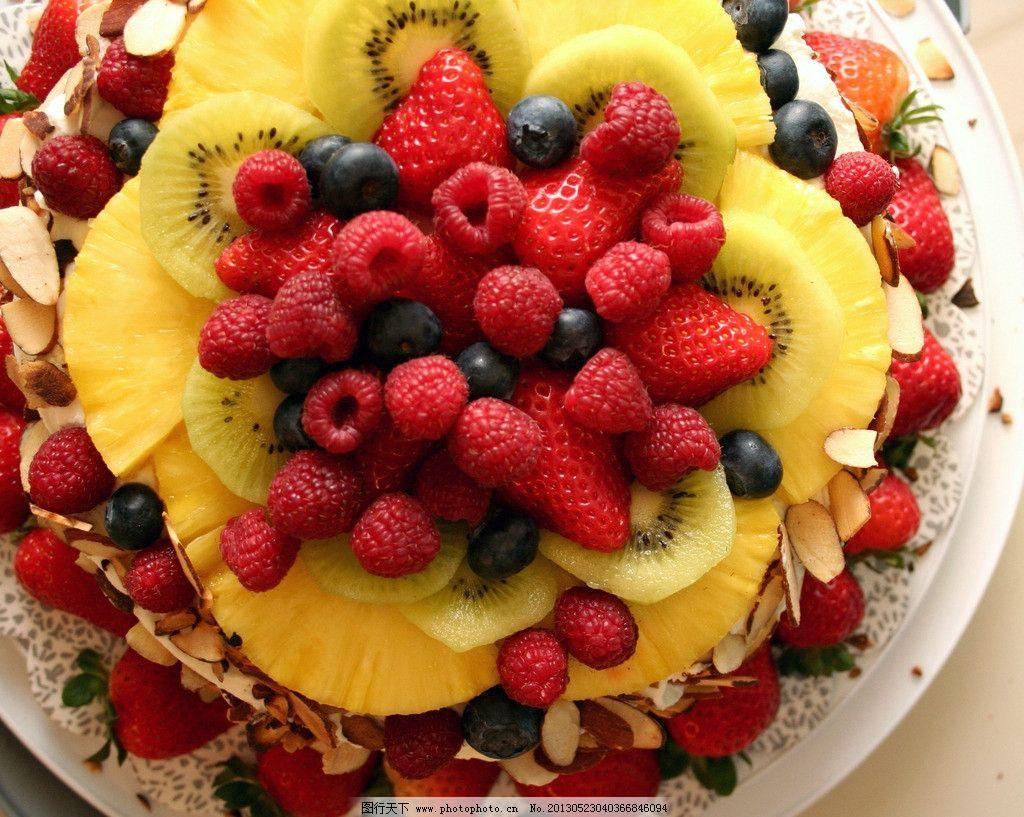 水果蛋糕 可爱 婚礼