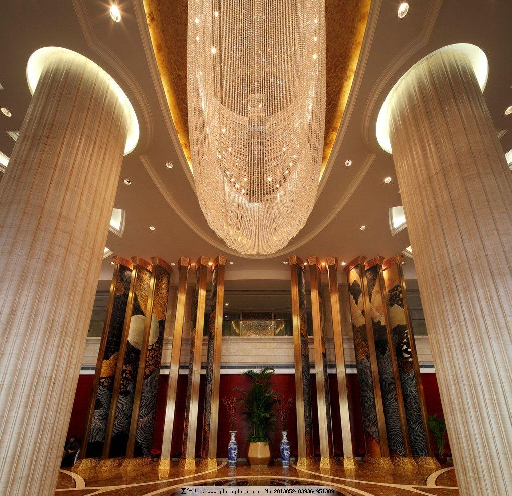 酒店大厅图片