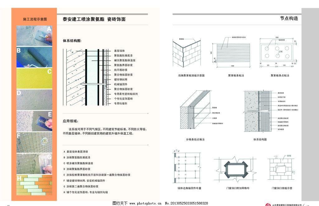 节点构造 画册排版