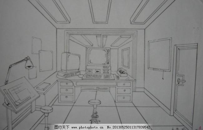 绘画室内步骤图片大全