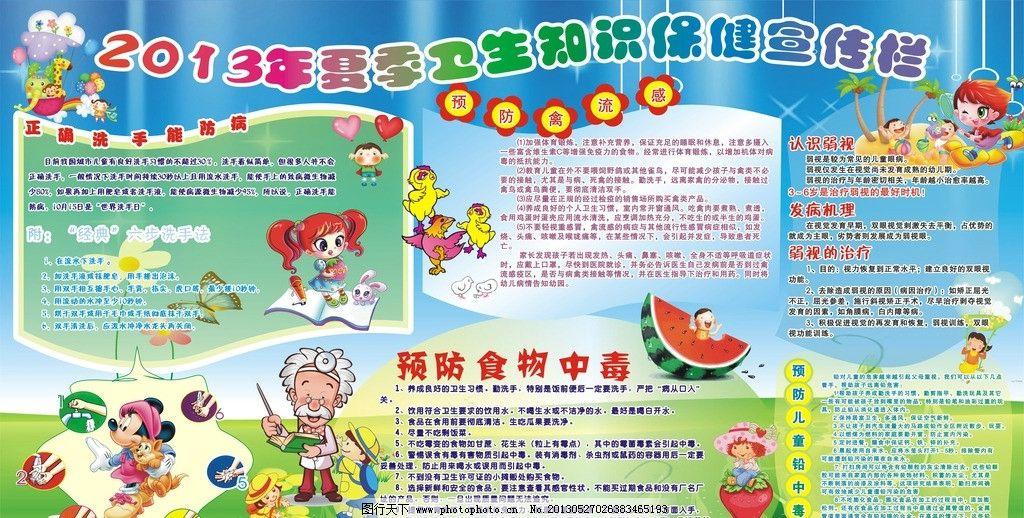 幼儿园卫生宣传栏图片