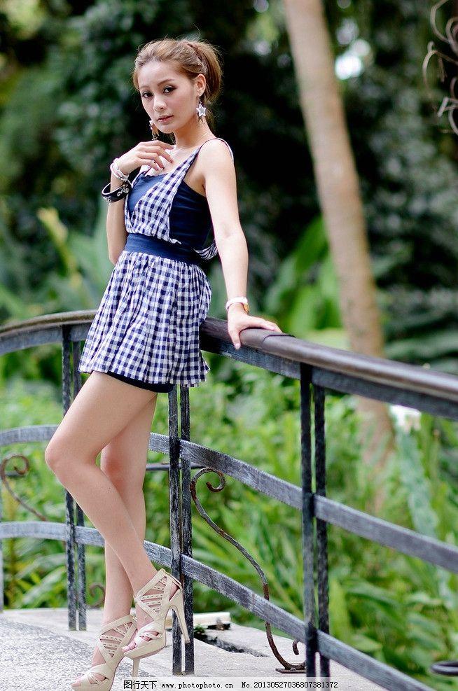 时尚美女连衣裙 气质美女 清纯美女 可爱美女 高挑白皙 都市时尚 美女 连衣裙 女性女人 美女写真 人物图库 美女模特 摄影 72DPI JPG 连衣裙美女