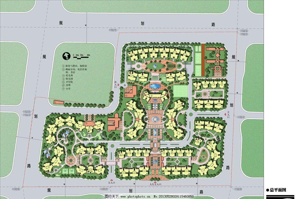 芙蓉花园总规划图片