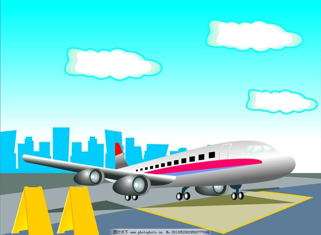 飞机场图片_设计案例_广告设计