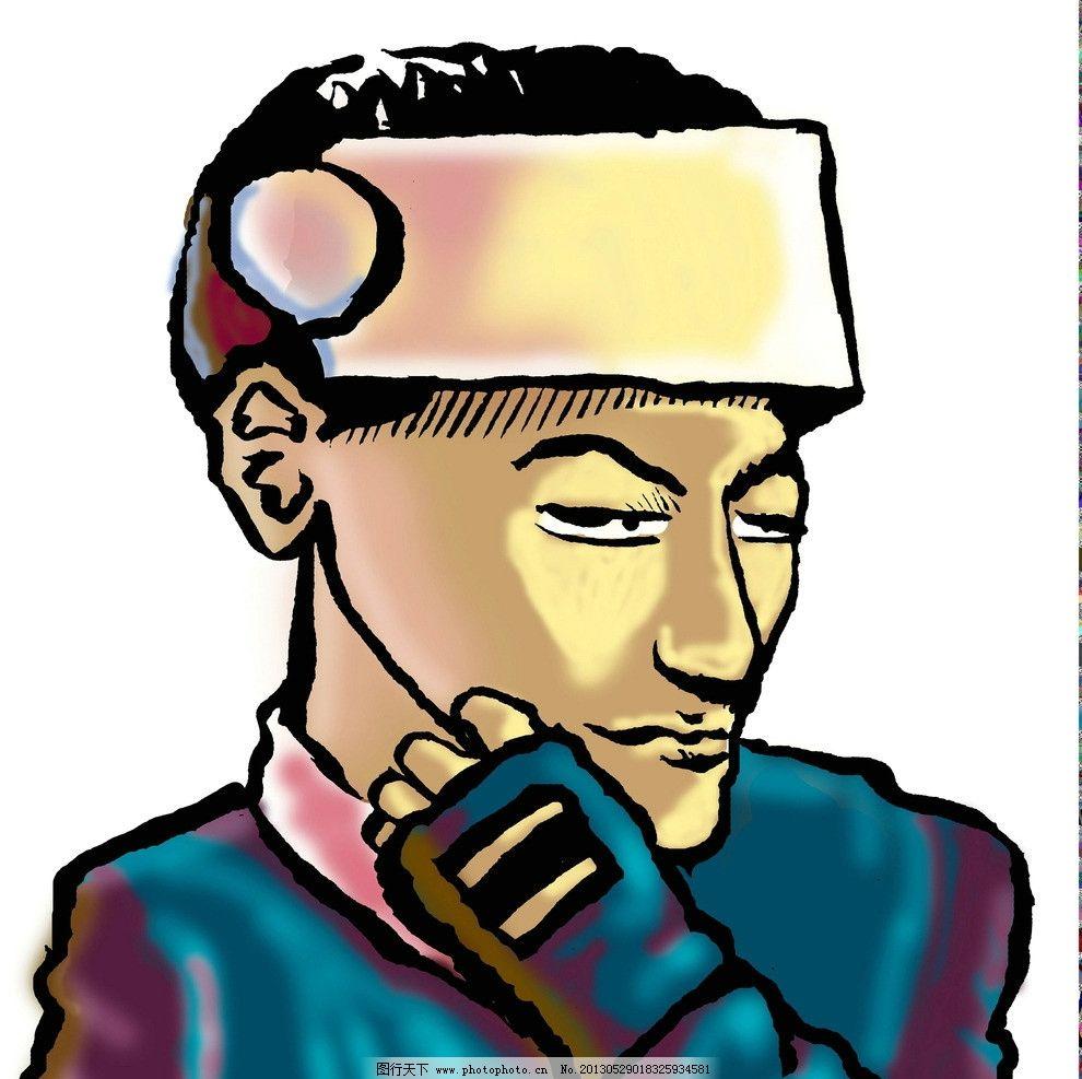 人物插画图片_动漫人物_动漫卡通_图行天下图库