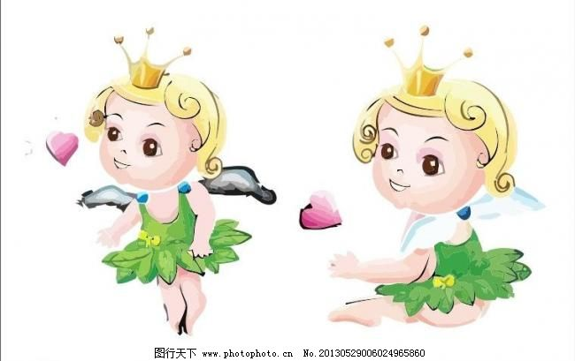 吉祥物 娃娃 天使 童话 公仔 卡通 q版 插画 动漫 漫画 外国 国外
