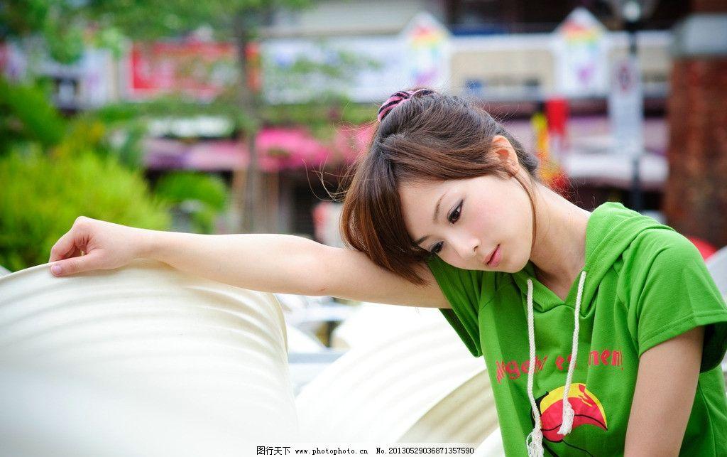 绿衣女孩百度