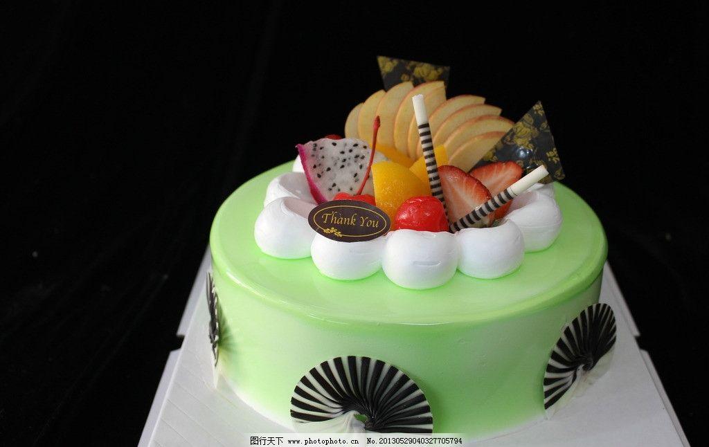 生日蛋糕 水果蛋糕 欧式蛋糕 西点 高清 西餐美食 餐饮美食 摄影图片