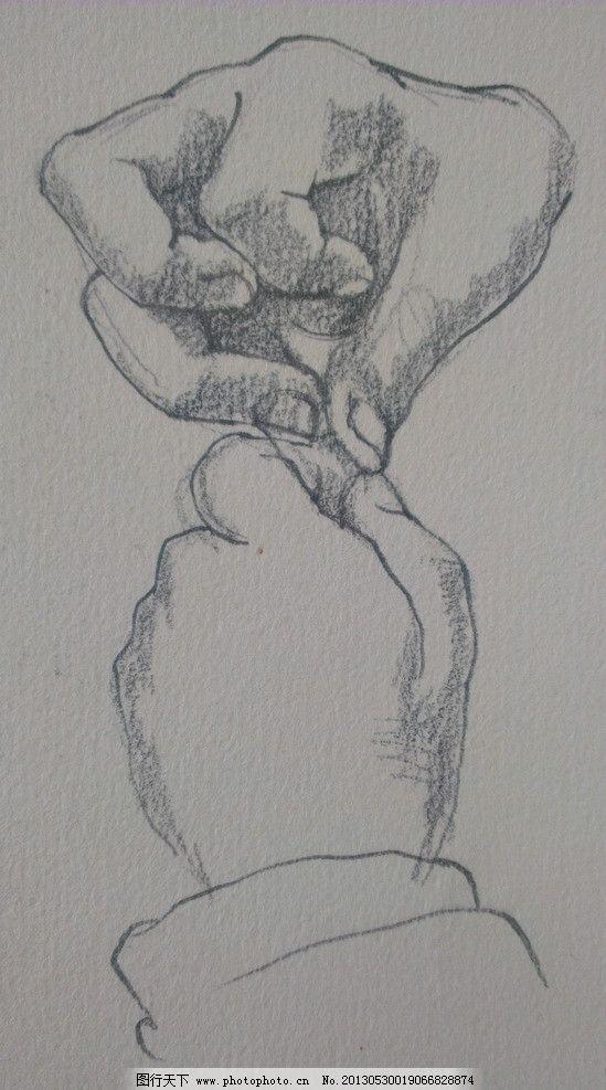 赵丽颖的素描铅笔画 第3步