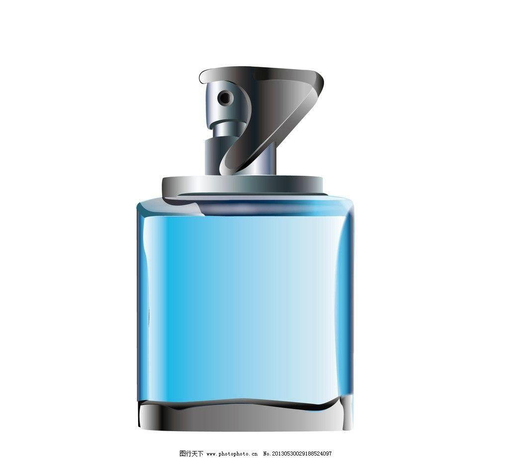 香水瓶 香水 矢量香水 矢量香水瓶 卡通香水瓶 包装设计 广告设计