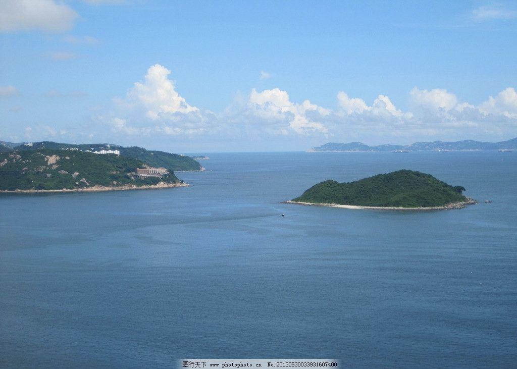 香港海洋公园 香港 海洋公园 鸟瞰图 海岛 海洋 国内旅游 旅游摄影