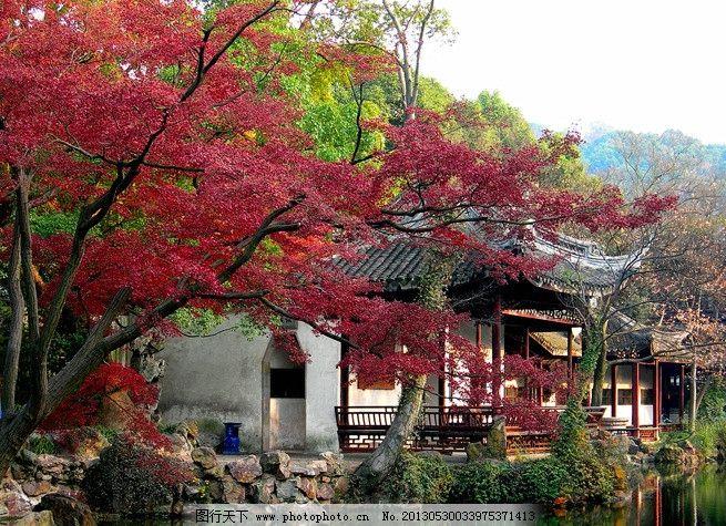 江南杭州唯美风景图片