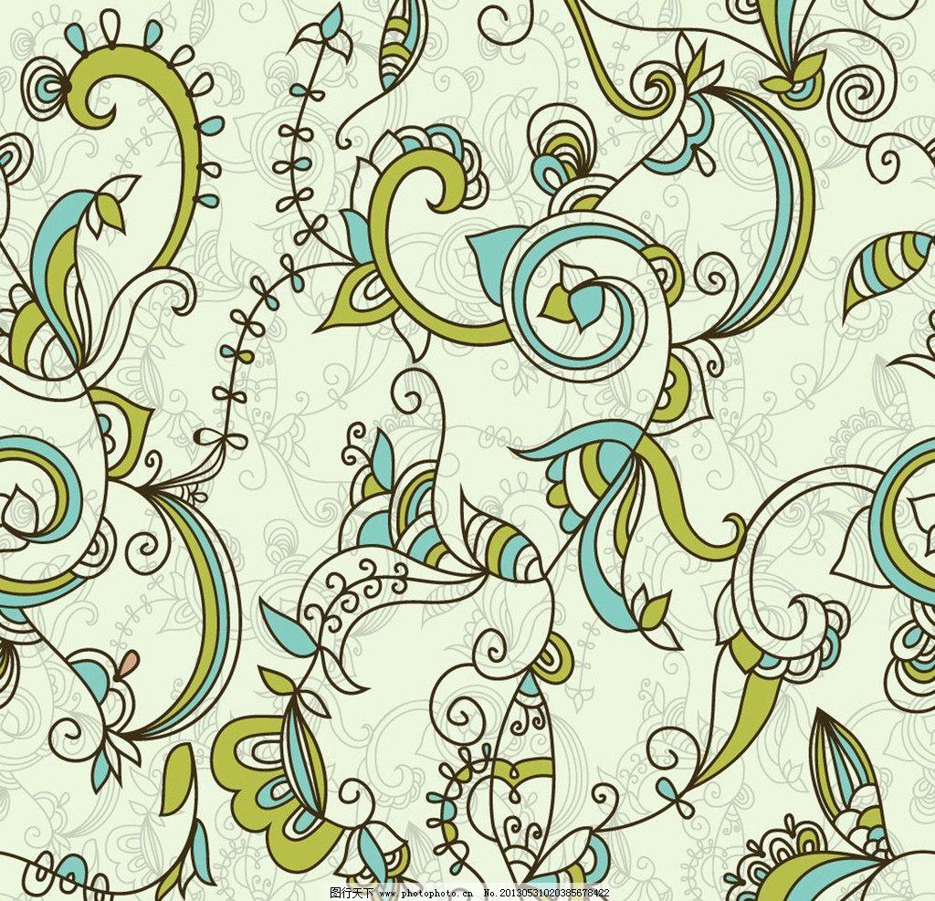 手绘花纹 欧式花纹 欧式古典花纹 欧式复古花纹 花纹墙纸 装饰边框