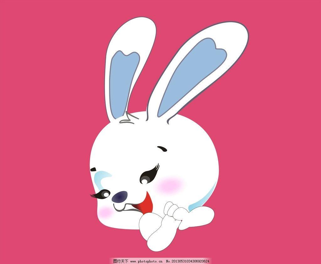动物兔子小白兔 动物 可爱动物 小白兔 兔子 生物 白色兔子 自然 可爱