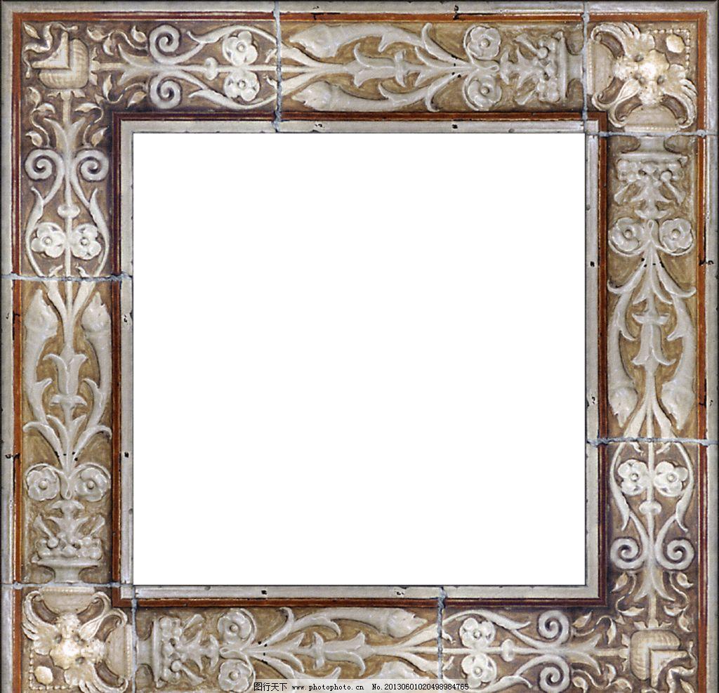 设计图库 底纹边框 边框相框  欧式边框 欧式画框相框设计素材 欧式图片