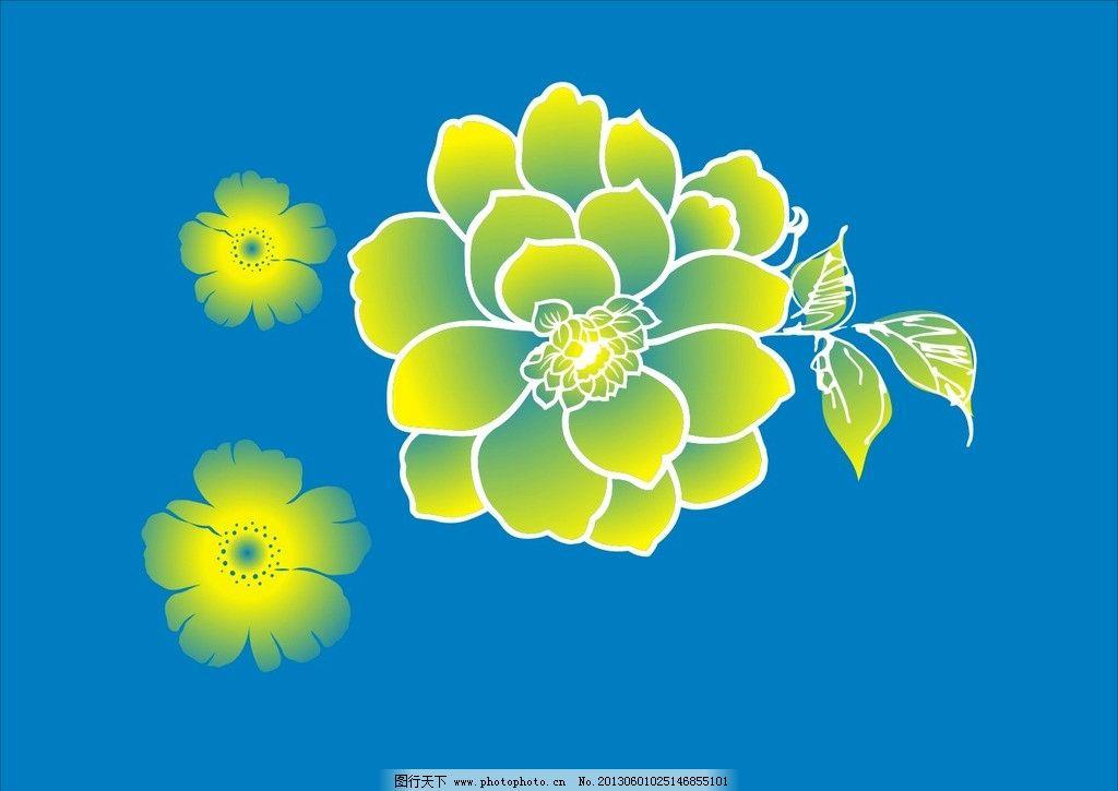 层次花 花朵 叶子 自然风光 花草树叶