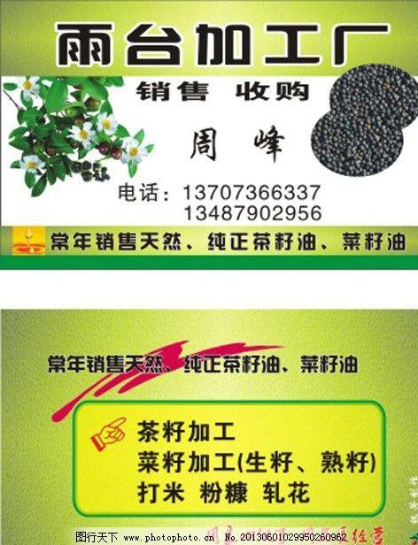 加工厂 茶菜籽加工