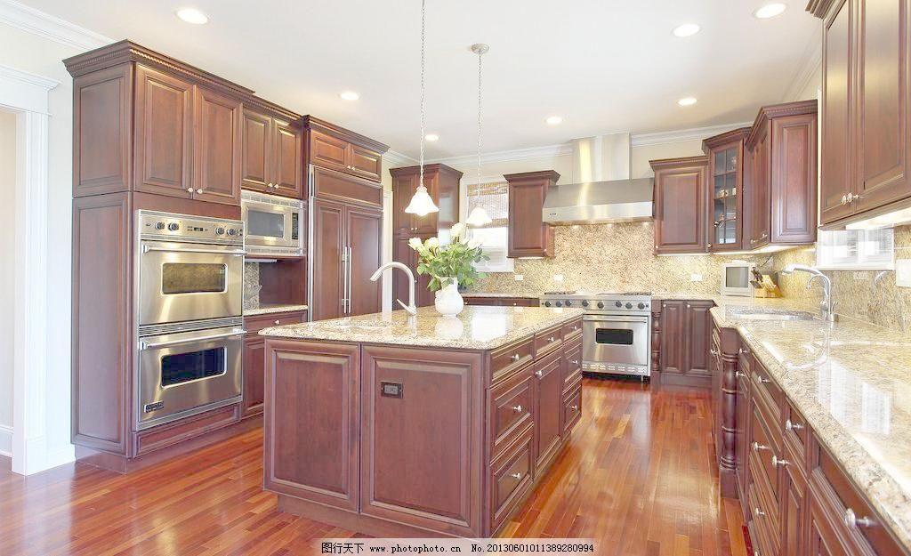 家居生活 欧式 摄影 生活百科 厨房图片素材下载      装修案例 实木