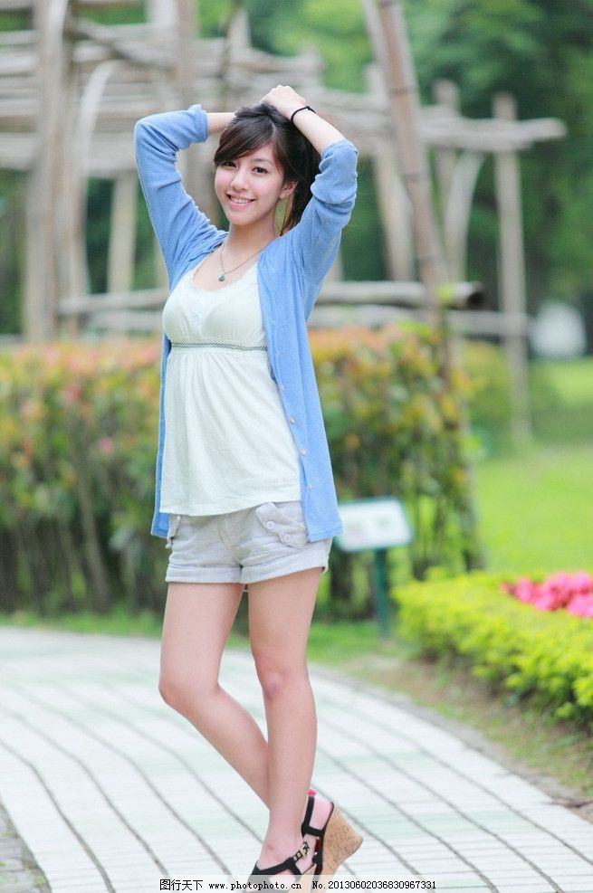 公园美女 气质美女 清纯美女 青春活力 小清晰 可爱美女 美女外拍