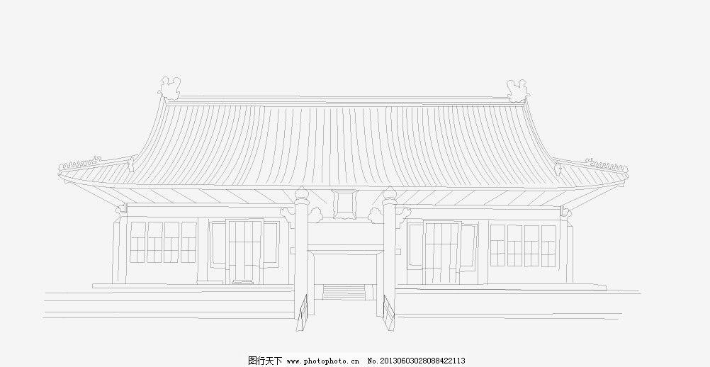 社稷坛 ai 中国 古建 筑 矢量 中国古建筑矢量图 城市建筑