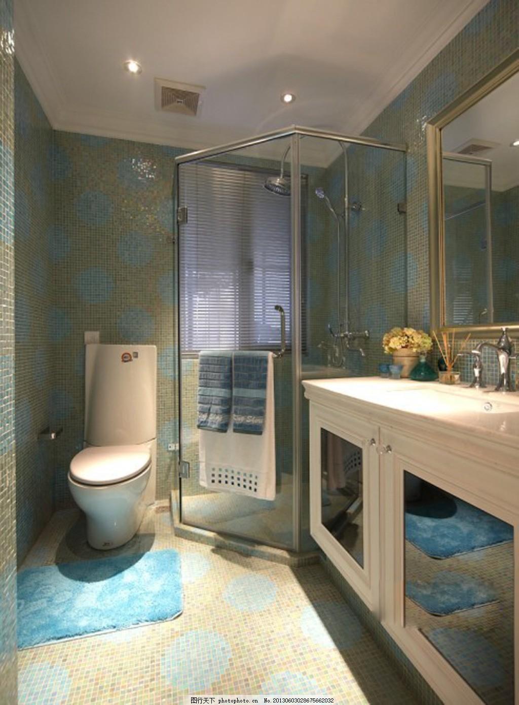 洗手间素材 室内装修效果图 卫浴效果图 卫生间效果图 瓷砖效果图