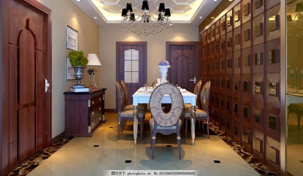 豪华餐厅 装修设计 素材 参考 室内设计 室内装修     黑色 jpg