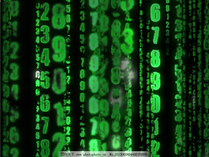 黑客帝国数字雨aepexo舞蹈教程v数字图片