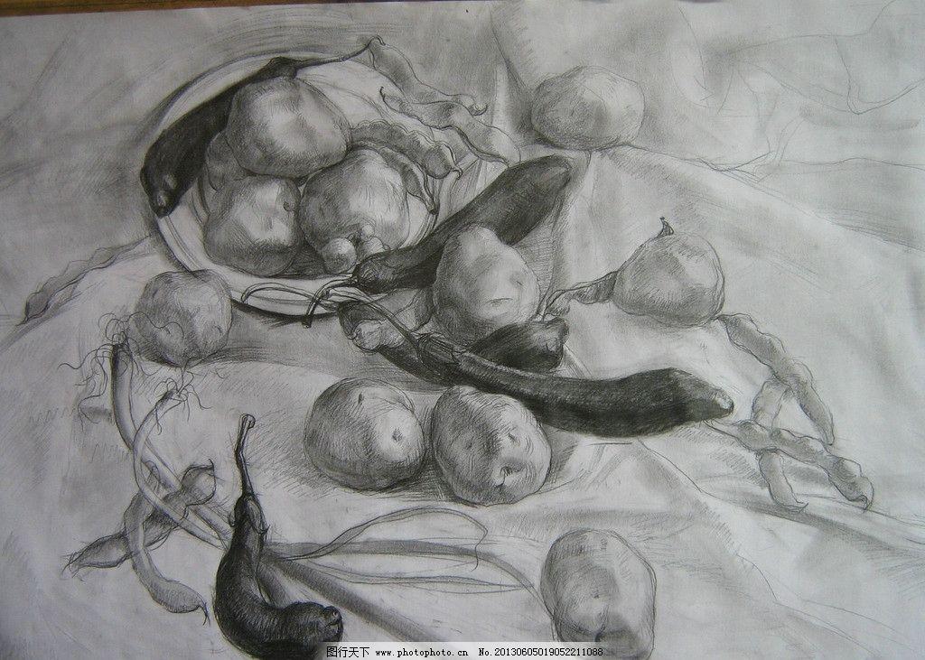 蔬菜素描图片步骤