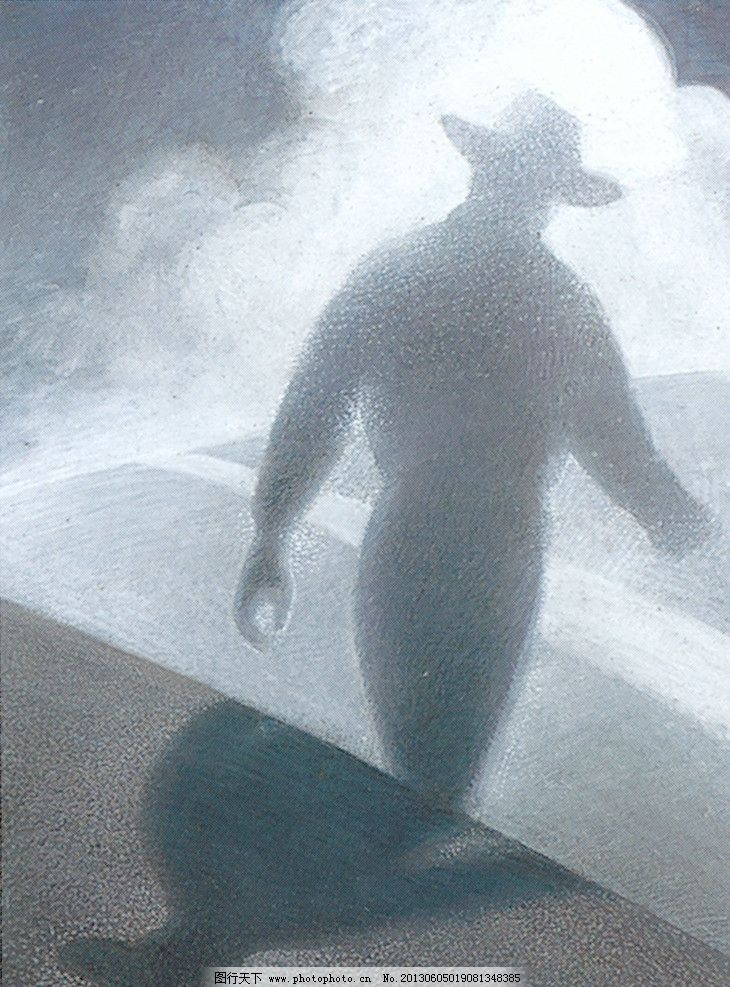 插画 背影 人物 帽子 手绘 绘画书法 文化艺术 设计 400dpi tif