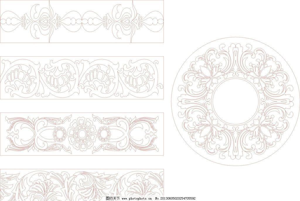 欧式底纹 底纹 磨花 花纹 木雕 雕刻图 玻璃用图 底纹背景 底纹边框