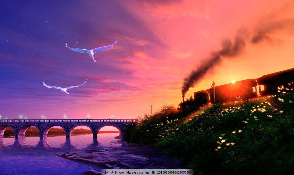 风景游戏壁纸图片_风景漫画