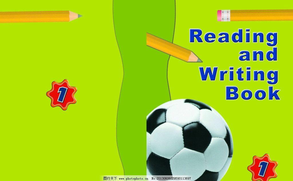 足球封面图片,封面设计 英语作业本封面 矢量足球封面