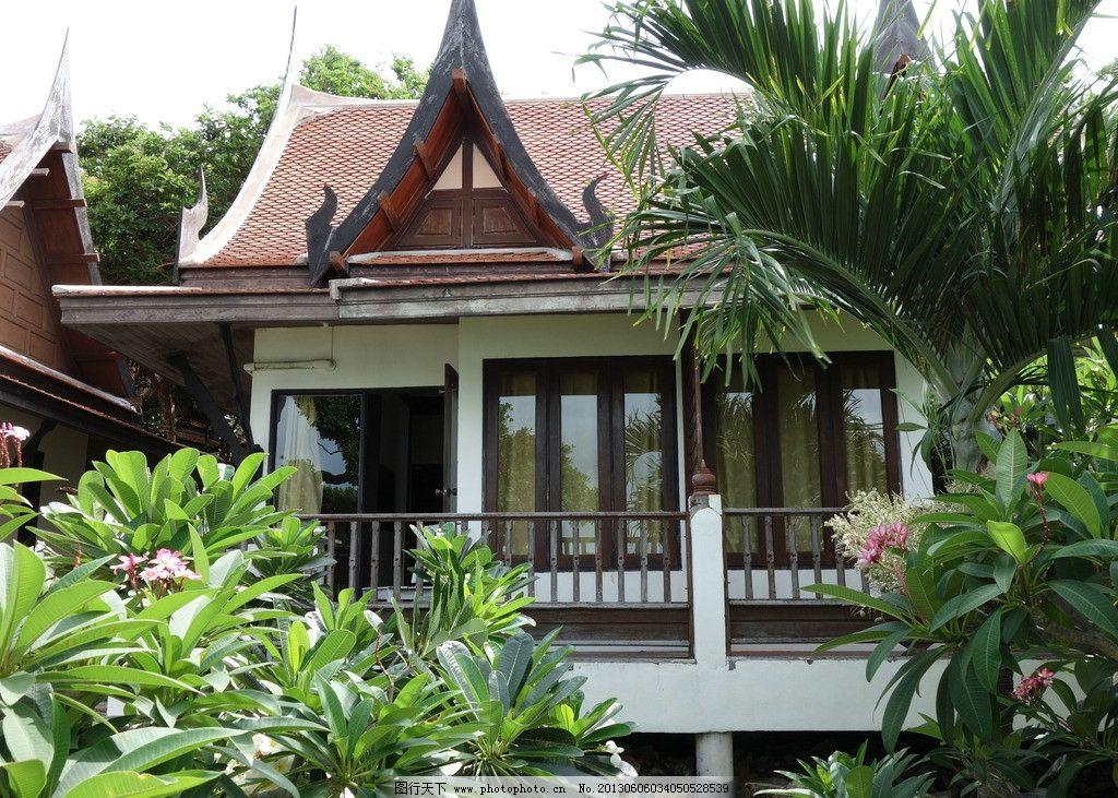 泰国 酒店 沙美岛 海 房子 国外旅游 摄影