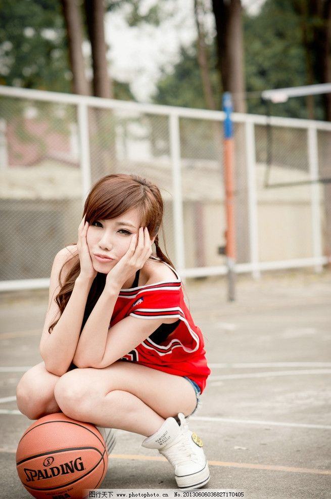 篮球宝贝 气质美女 青春活力 可爱美女 清纯美女 运动女孩 高清美女