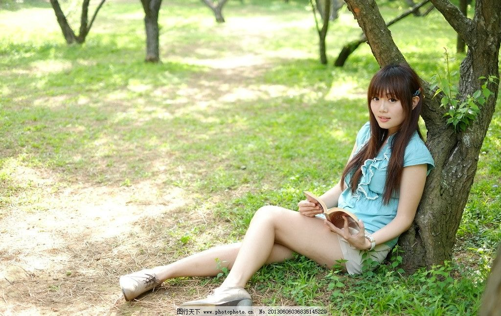 公园美女 清纯美女 阳光美女 气质美女 青春靓丽 青春活力 可爱美女