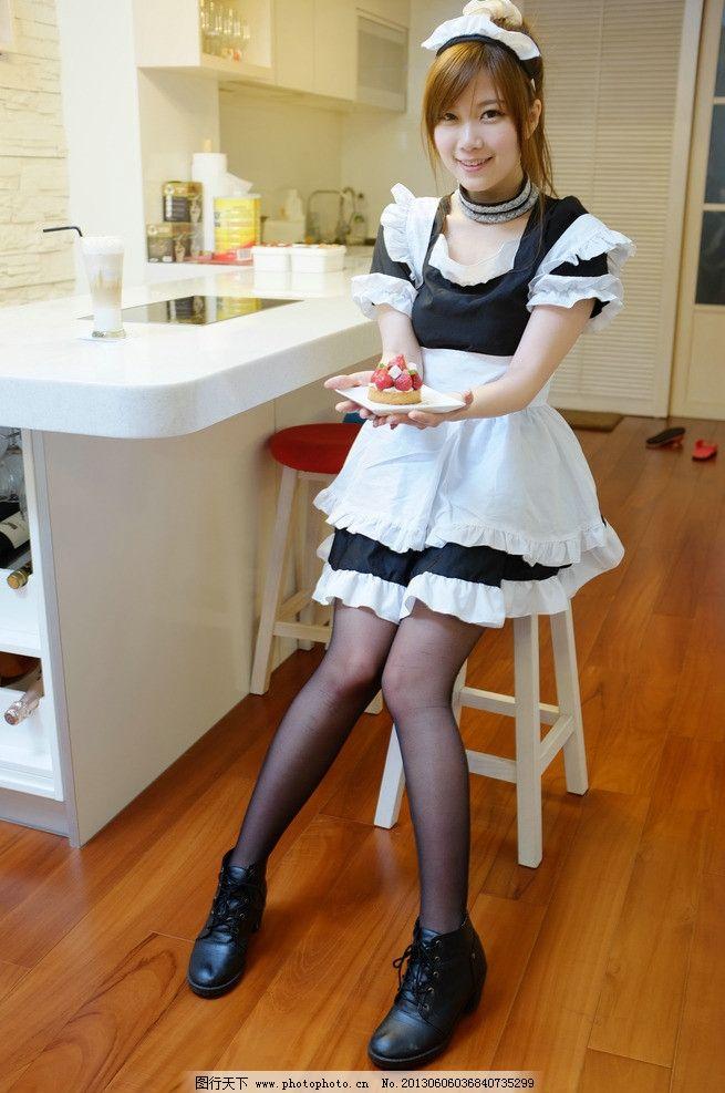 女仆装美女 可爱美女 清纯美女