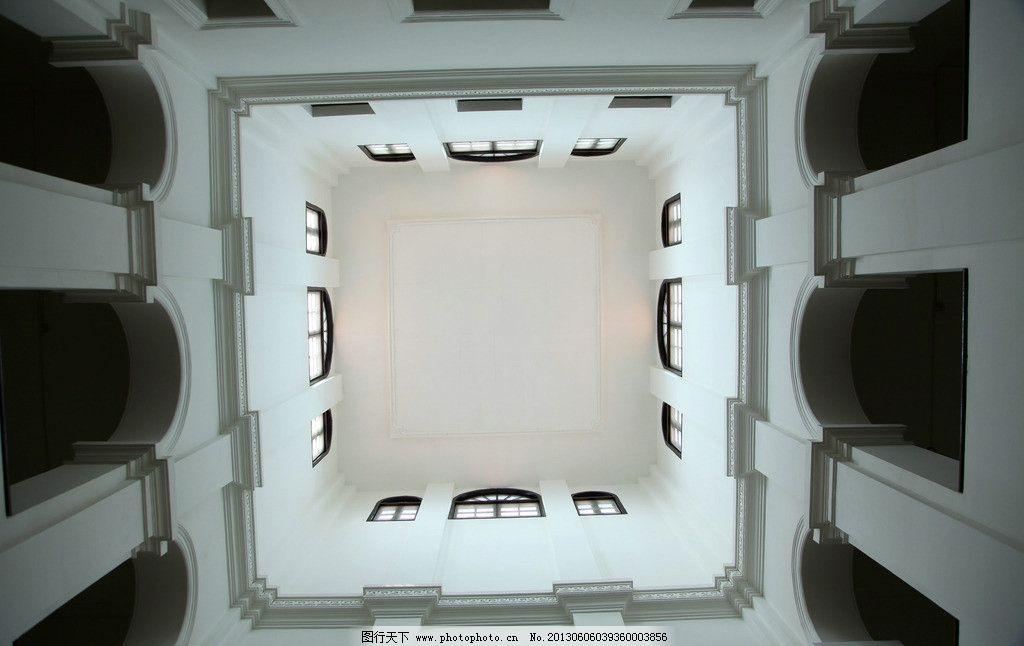 房顶 欧式建筑 摄影 创意