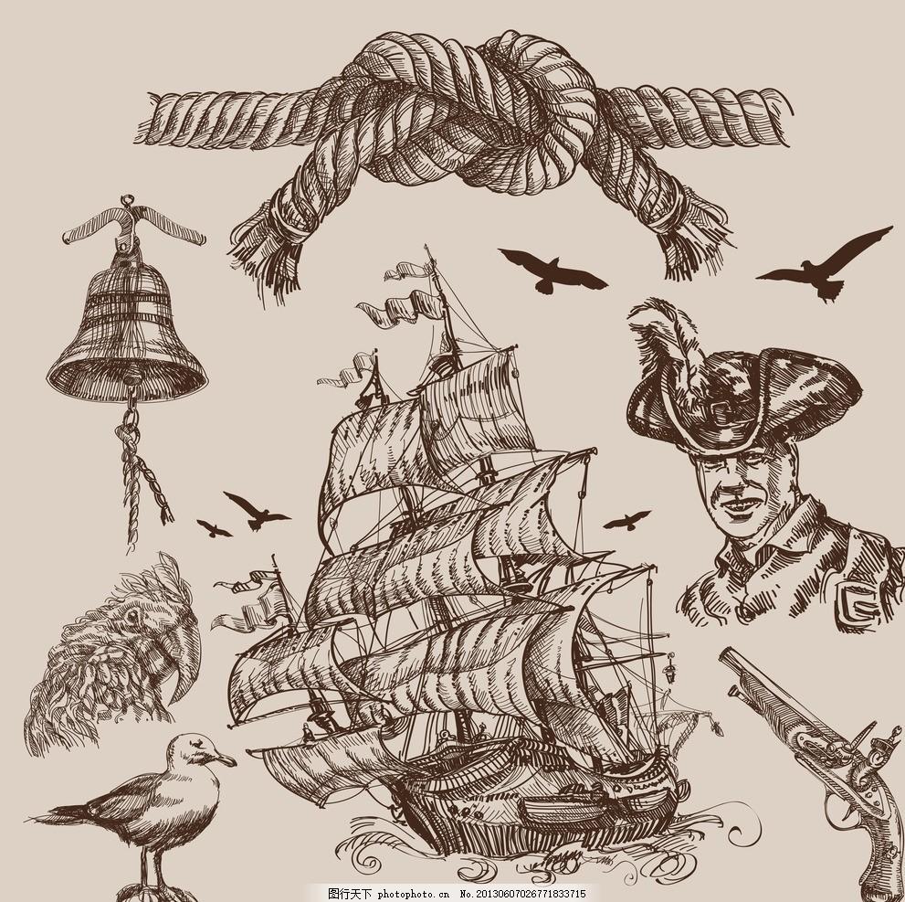 轮船简笔画漂亮