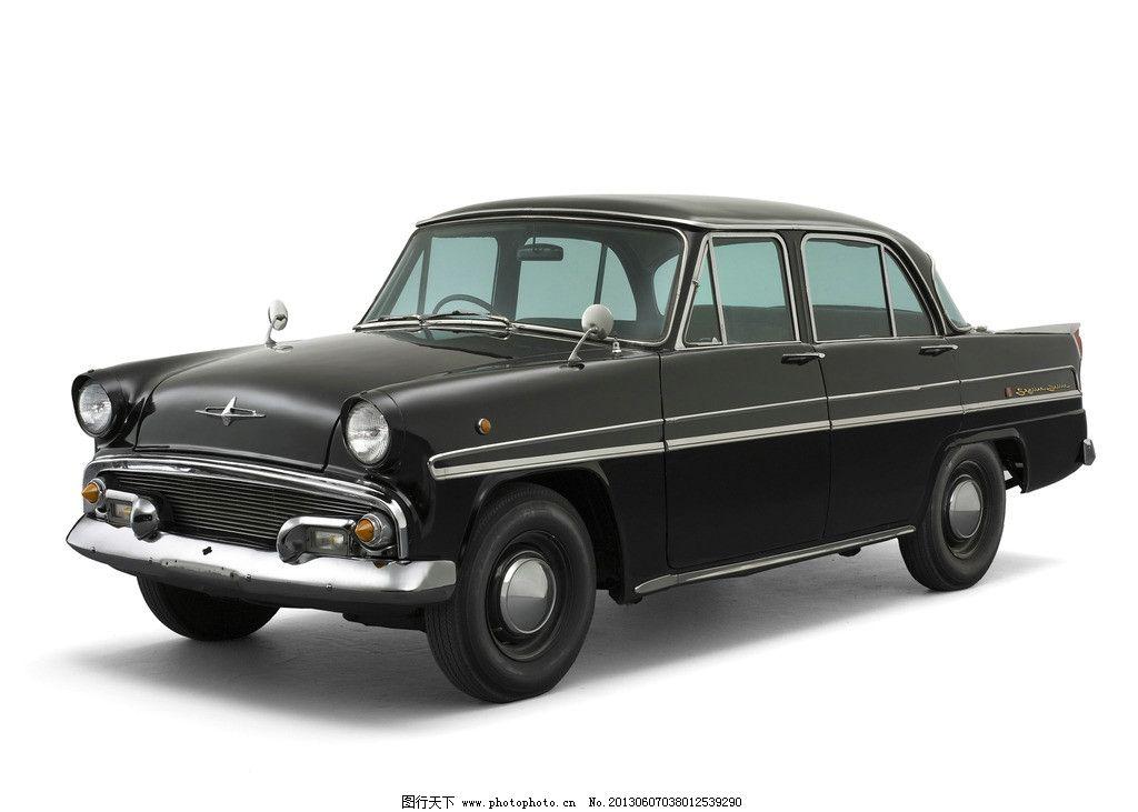 老式轿车 轿车 黑色轿车 汽车 小轿车 交通工具 老爷车 现代科技 摄影