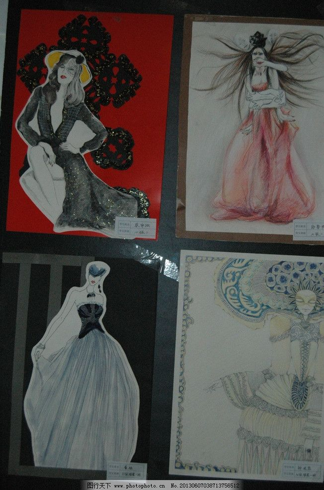 手绘插图 海报 手绘 手绘图 pop pop海报 手绘服装 手绘模特 手绘