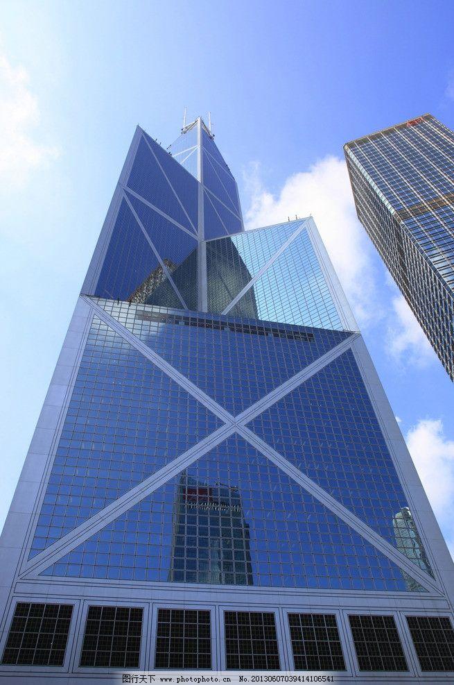 香港中银大厦 建筑 办公楼 城市 楼 建筑摄影 商务中心 大厦 楼宇
